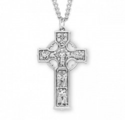Celtic Cross Sterling Silver [HMCR1004]