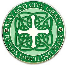 Celtic House Blessing Wall Plaque - 4.25 inches [TCG0081]