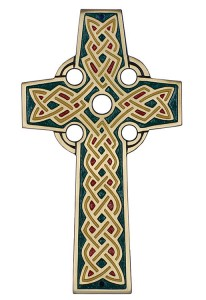Celtic Wall Cross - 8.5 inches [TCG0092]