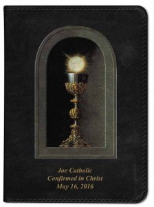 Chalice and Holy Host Catholic Bible [NGB011]