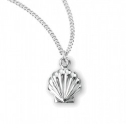 Child's Baptism Shell Necklace [HMM3414]