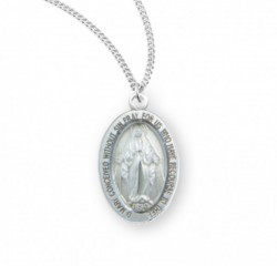 Child's Oval Miraculous Pendant [HM0759]