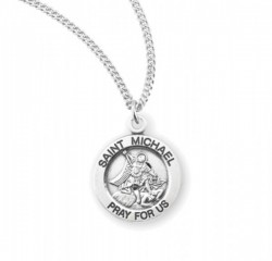 Child's St. Michael Necklace [HMM3430]