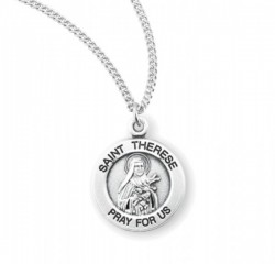 Child's St. Therese Necklace [HMM3431]