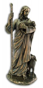 Christ the Good Shepherd Statue - 11.5 Inches [GSCH1100]