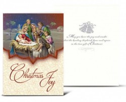 Christmas Joy Christmas Card Set [HRCR8105]