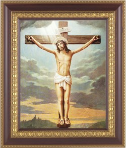 Christ's Crucifixion Framed Print [HFP119]