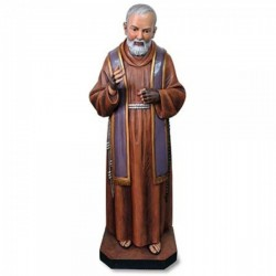 Church Size Saint Pio 48 Inch High Statue [CBST079]