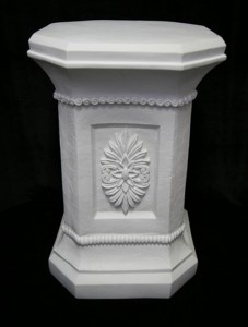 Classic Roman Styled Pedestal - 30 inch [VIC1413]