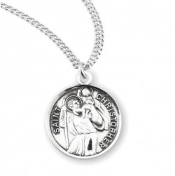 Classic Saint Christopher Necklace [HMM3406]