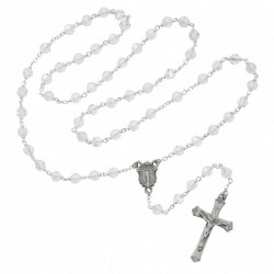 Clear Crystal Rosary [MVRB1152]