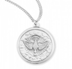 Clouds of Heaven Dove Necklace [HMM3388]