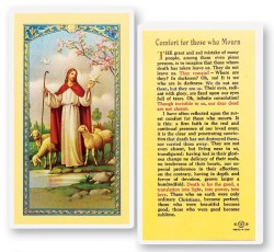 Comfort For Those Who Mourn Laminated Prayer Cards 25 Pack [HPR780]