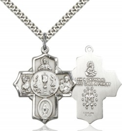 Boy's or Men's Communion 5-Way Pendant [BC0043]