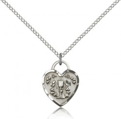 Communion Heart Pendant [BC0071]