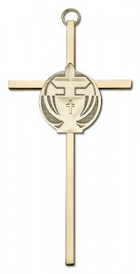 "Communion Chalice and Cross Wall Cross 6"" [CRB0067]"