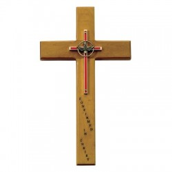 Confirmation Maple Wood Cross - 10 inch [SNCR0039]