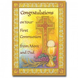 Congratulations on Your First Communion from Mom and Dad [PRH011]