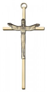 "Contemporary Risen Christ Wall Crucifix 6"" [CRB0027]"