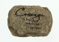 "Courage Paperweight, Resin - 3 3/4""W [AB3030]"