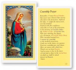 Courtship Laminated Prayer Cards 25 Pack [HPR736]