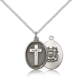 Cross Coast Guard Pendant [BM0232]