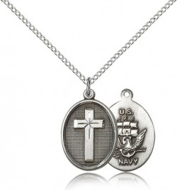 Cross Navy Pendant [BM0246]