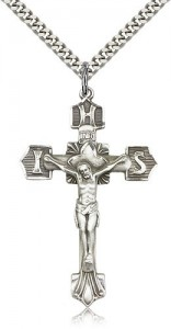 IHS Men's Crucifix Pendant [BM0256]