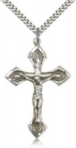 Men's Pointed Crucifix Pendant [BM0257]