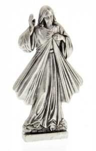 Divine Mercy Pocket Statue with Holy Card [HPC003]