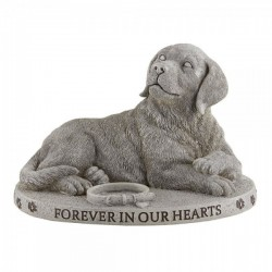"Dog Figure Memorial Garden Stone 6.5"" High [CBSD013]"