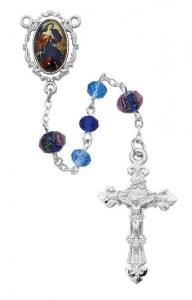 Fancy Border Our Lady of Sorrows Rosary [MVRB1218]