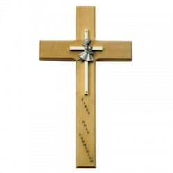 First Communion Girl's Cross - 10 inch [SNCR0041]