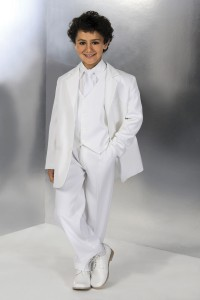 First Communion Suit - White [CC1043]