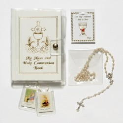 Girl's First Communion Gift Set with Mass Book [SNC0055]