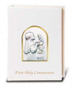 Girls First Communion Missal from Salerni [HM5881]