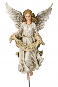 "Gloria Angel on Stand 30"" H for 27"" Scale Nativity Set [RM3002]"