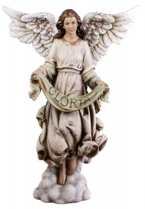 "Gloria Angel Nativity Figure - 39"" Scale [RMC006A]"