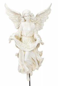 "Gloria Angel on Stand 30"" for 27"" Scale Nativity Set [RM0022]"