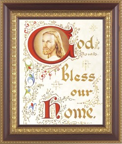 God Bless Our Home Framed Print [HFP387]