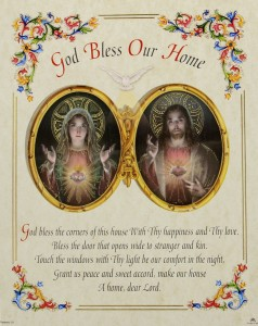 God Bless Our Home Prayer Print [HPP027]