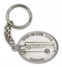 God Bless This Bus Driver Keychain [AUBKC044]