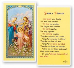 God Made Us A Family Laminated Prayer Cards 25 Pack [HPR749]