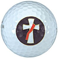 Golf Balls with Deacon's Cross - Set of 3 [TCG0224]