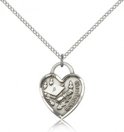 Graduation Heart Pendant [BM0915]