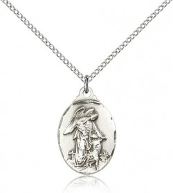 Women's Guardian Angel Pendant [CM2210]