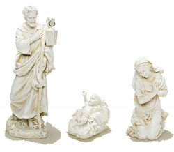 Holy Family Nativity Three-piece Set, 27.5 inches [RM0014]