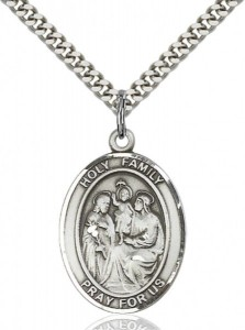 Holy Family Pendant [EN6347]