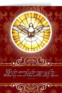 Holy Spirit Confirmation Greeting Card [NGC006]