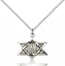 I Am Star of David Pendant [BM0379]
